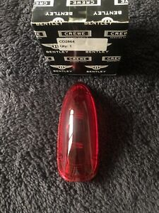 Rolls-Royce Bentley Silver Cloud 1955-62 Rear Red Tail Lamp Lens CD2864 OEM NEW