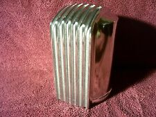 VINTAGE NOS 50s 60s STYLE FINNED OIL FILTER COVER AUTO TRUCK HEMI ROD ACCESSORY