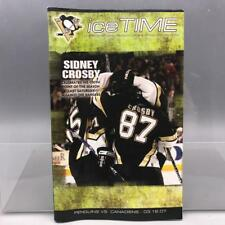 Pittsburgh Penguins Montreal Canadiens Ice Time Game Program March 16 2007