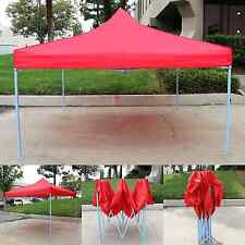Canopy Tent 10x10 Commercial Fair Shelter Car Shelter Wedding Beach - Red