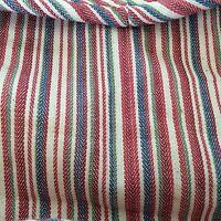 Longaberger Market Stripe Liner ONLY for Napkin NO Basket New FREE SHIP
