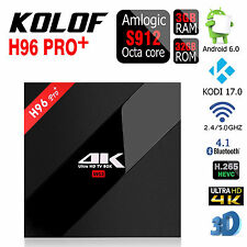 Newest 3G+32G H96 PRO+ Android6.0 Amlogic S912 BT4.0 HDMI OTA Double Wifi Tv Box