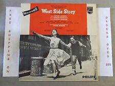 WEST SIDE STORY ORIGINAL CAST SOUNDTRACK UK IMPORT LP EARLY STEREO SBBL 504