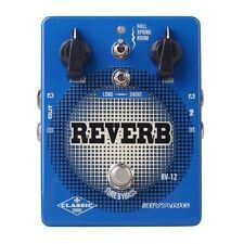 "Biyang RV-12 Electric Guitar Bass Effect Pedal Stereo ""Reverb"" True Bypass"