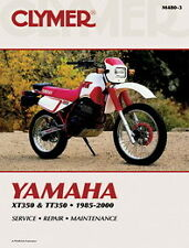 CLYMER MOTORBIKE MOTORCYCLE WORKSHOP REPAIR MANUAL YAMAHA  XT350 TT350 1985-2000