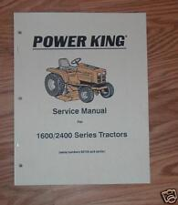 ECONOMY / POWER KING 1600-2400 SERIES SERVICE  MANUAL 1