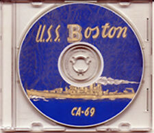 USS Boston CA 69 CRUISE BOOK  WWII on CD RARE Navy
