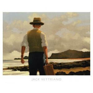 "Jack Vettriano ""The Drifter"" Quality Print"