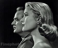1956 Vintage PRINCE RAINIER III & PRINCESS GRACE Monaco Photo Art 16x20 By KARSH