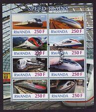 RWANDA 2012 HOCHGESCHWINDIGKEITSZÜGE   KLEINBOGEN