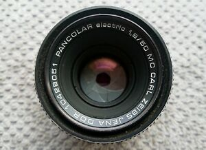 Carl Zeiss Jena PANCOLAR electric MC 1.8 / 50 mm M42 late model