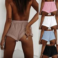 Women Sexy Shorts High Waist Short Pants Casual Summer Beach Shorts Plus Size