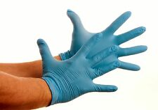 100 Nitrile Disposable Powder Free Gloves (Non Latex Vinyl Exam) Large