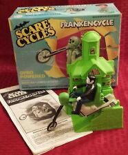 """Ideal SCARE CYCLES """"FRANKENCYCLE"""" Frankenstein (Nice in Original Box) 1978"""
