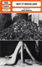 FICHE CINEMA : NUIT ET BROUILLARD - Bouquet,Heydrich,Resnais 1955 Night And Fog