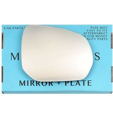 Left side Flat Wing door mirror glass for Citroen Xsara Picasso 1999-2008 plate