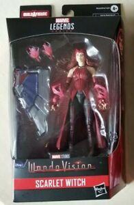 "IN HAND Marvel Legends Wandavision SCARLET WITCH 6"" Figure Flight Gear BAF NEW"