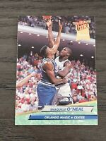 1992-93 Fleer Ultra Shaquille O'Neal Rookie Card #328 Orlando Magic