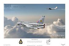 111 Squadron English Electric Lightning F.6, RAF Wattisham. Digital Art Print