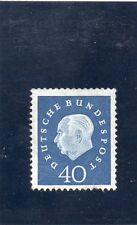 ALLEMAGNE FEDERALE.N°176 xxNEUF.40p BLEU 1959.. COTE 17  €. PRIX: 2,95 €