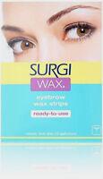 Surgi Wax EyeBrow Wax Strips (28 strips)