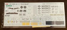 "1/35 Academy kit decals for AH-1Z Viper ""Shark Mouth"""