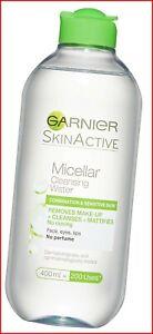 Garnier Micellar Water Facial Cleanser Combination Skin 400ml