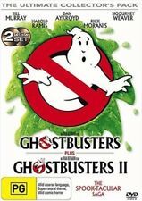 Ghostbusters 1 / Ghostbusters II (DVD, 2005, 2-Disc Set) : NEW