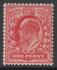 SG 272a 1d  Brick Red (No Wmk) M6a (-) in Post Office  fresh unmounted mint .