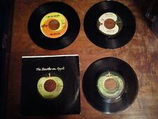 Lot of 4 Beatles vinyl 45 records