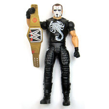 WWF WWE ECW Crow Sting with Champion Belt Wrestling Action Figure Kid Child Toys