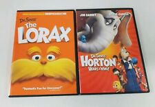 Dr. Seuss's: The Lorax & Horton Hears a Who! Set of 2 DVD Movie Children's