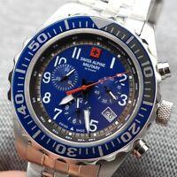 new Watch Swiss Alpine by Grovana - Chronograph - Swiss Made - 7076.9135