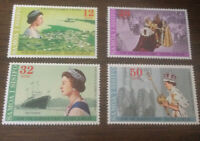 samoa i sisifo mint never hinged stamps Royal Visit/silver Jubilee 1977 Set