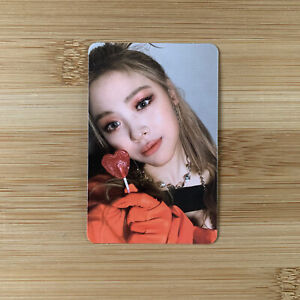 Kpop Itzy Official Guess Who Album Mafia In The Morning Ryujin Photocard