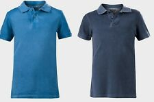 Boys Teens T Shirt Pique Polo Washed look Top Kids Joe Fresh Cotton 4-5 to 13-14