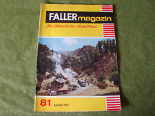 Faller ams   - Magazin Nr. 81