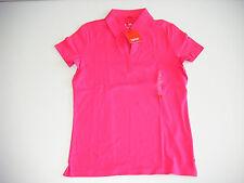 NEU Polo-  Shirt  #  ESPRIT  #  Gr. L  V-Ausschnitt  pink  Poloshirt  Stickmotiv