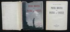 Prima Mostra della Pietra di Vicenza Neri Pozza Venezia 1952 Catalogo Scultura