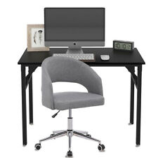 Office Chair Folding Computer Desk Wooden Study Writing Home Office Furniture Us