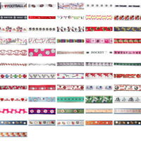 SPORT Theme Ribbon Trim By the yard - great for Scrapbooking & Bow Making