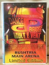 Dance Paradise MULT E VENT 2 Rushtria Ltd Ed Tape 6 Pack 1994 Rave Event Rare