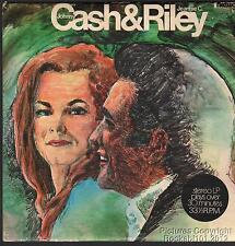 1970 Johnny Cash & Jeannie C Riley 33 RPM EP (King and Queen of Country Music)
