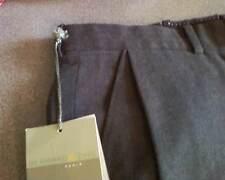 Bernard Zins Men's Plated Dress Pants