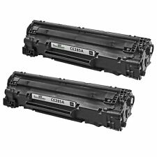 2pk Reman HP CE285A 85A Blk LaserJet Pro M1132 M1212nf M1217nfw MFP P1102 P1102W