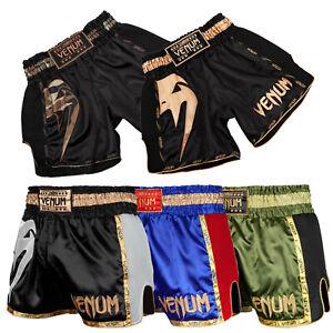 Venum Muay Thai Shorts Giant Schwarz Blau Rot Khaki XS-2XL Thaiboxen Kickboxen