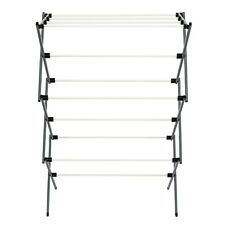Metal Clothes Drying Rack Laundry Storage Portable Stand Folding Rustproof