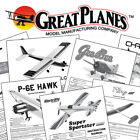 Great Planes Instruction Build Owner's Manuals VARIOUS MODELS ARF RTF Kits +MORE