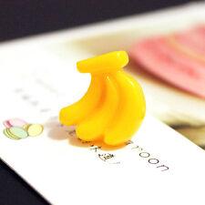 Banana lifelike Earrings Fresh Ear Studs Accessories Shy cartoon Fashion Fuirt