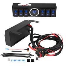 Rocker Switch Pod Panel Control Bracket W/ Blade Fuse&Relay for Jeep Wrangler Z